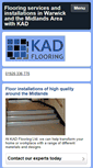 Mobile Preview of kadflooring.co.uk