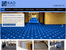 Tablet Preview of kadflooring.co.uk
